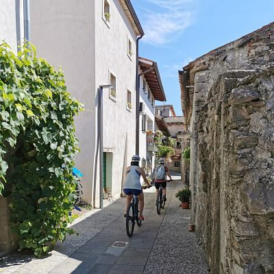 Self-guided cycling tour